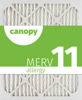 "14x20x1 Canopy Filters MERV 11, 13 1/2"" x 19 1/2"" x 3/4"", Box of 6"