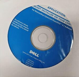 N.I.B. Dell Reinstalling Disc CyberLink PowerDVD 5.7