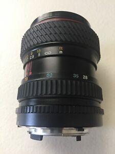 Tokina SD 28-70mm Zoom and Macro lens for Nikon