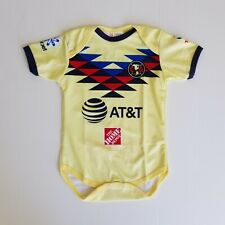 Club America Baby Soccer Jersey Bodysuit Pañalero 2020 Home Jersey