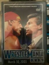 WWE - Wrestlemania XIX 19 (DVD, 2003) Brand New  In Shrink Wrap -RARE