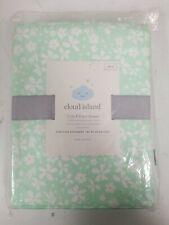 cloud island crib fitted sheet