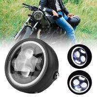 """7"""" 40W LED Scheinwerfer Motorrad Haupt  LED Tagfahrlicht für Harley Cafe Racer"""