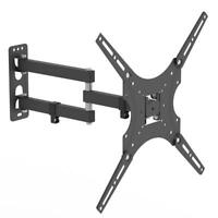 "Full Motion TV Wall Mount Articulating Bracket 26-55"" LED LCD FlatScreen TV Moun"
