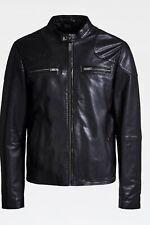guess Biker leather Men's jacket