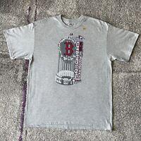 Majestic MLB Red Sox 2013 World Series Champions Baseball Shirt Mens XL