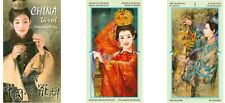 China Tarot New Sealed 78 Color Cards Stunning Chinese Art Ancient Magic Poetry