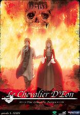 Le Chevalier D'Eon - Complete Box Set Funimation 5 DVD Set Out Of Print