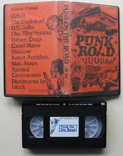 VHS Punk On The Road Jettisoundz - G.B.H. Exploited U.K.Subs Urban Dogs Mau Maus