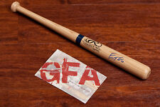 **GFA Seattle Mariners *ERIC THAMES* Signed Rawlings Mini Bat E1 COA**