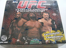 2009 Topps UFC Hobby Series 2 Box plus 2010 UFC series 4 hobby box included