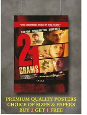 21 Grams Classic Movie Large Poster Art Print Gift A0 A1 A2 A3 A4