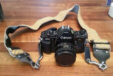 Vintage Canon A-1  Film with 50 mm lens take a look!