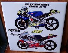 Valentino Rossi Aprilia RS 125 ~1996 and 1997~ Ceramic Tile
