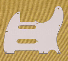 PG-9563-035 White S-Cut Nashville Pickguard for Telecaster® Guitar 3-ply