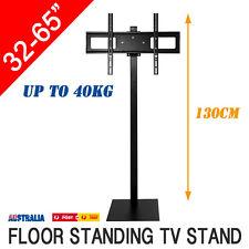 """1.3M Floor Standing 32-65"""" LED PLASMA LCD Tilt Swivel TV Stand Mount Bracket"""