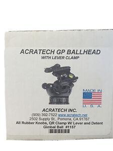 Acratech GP Ballhead W/ Lever Clamp, 25 lbs Load Capacity, Bulls-Eye Level