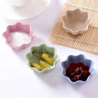 flower shape fruit snack sauce bowl food container tableware dinner plates NT