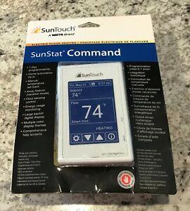 SunTouch 81019086 SunStat COMMAND PROGRAMMABLE RADIANT FLOOR HEATING THERMOSTAT