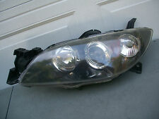 MAZDA 3 04 05 06 07 08 09 HEADLIGHT SEDAN OEM  HALOGEN LH