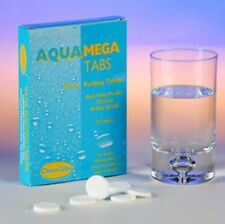 Aqua Clean Mega Tabs Drinking Water Purification Tablets Each Tab Purifies 225L
