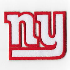 New York Giants Iron on Patches Embroidered Badge Patch Applique White Sew FN