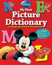 Disney My First Picture Dictionary: Over 900 Words and Meanings by Parragon Books Ltd (Hardback, 2014)