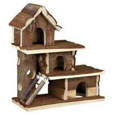 Natural Living Holz Haus Tammo Nager Kleintiere Versteck Hamster 25 × 30 × 12 cm