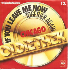 CHICAGO - If You Leave Me Now (ps) 7""