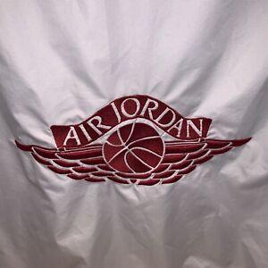 Air Jordan Windbreaker Track Jacket Retro Throwback Full Zip Mens XLT Tall