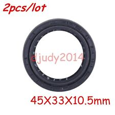 Motorcycle Dirt Pit Bike Front Fork Suspension Oil Seal Accessory 45X33X10.5mm