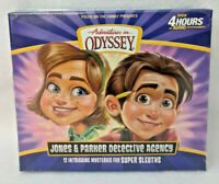 NEW Jones and Parker Detective Agency Adventures in Odyssey Audio CD AIO