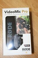 Rode VideoMic Pro Condenser Shotgun Microphone with Rycote Lyre Shock Mount DSLR