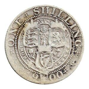 KM# 780 - One Shilling - Victoria - Great Britain 1900 (Fair)