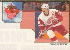 STEVE YZERMAN NO:NHLP20 NHL PASSPORT  in TOPPS STADIUM CLUB 2000-01   near mint