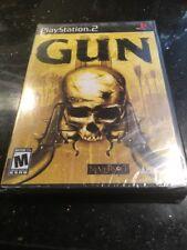 Gun (Sony PlayStation 2, 2005)  Brand New Factory Sealed