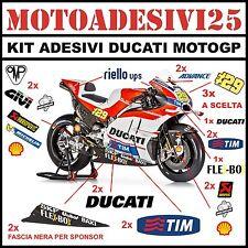 kit adesivi DUCATI grafiche replica MOTO GP sponsor carene pista PANIGALE