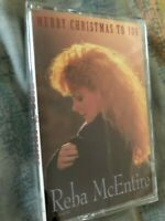 Reba McEntire- Merry Christmas To You- new/sealed cassette tape