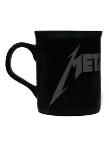 Metallica Mug for Tea or Coffee Grey Logo Black