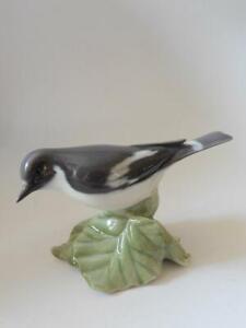 "Royal Copenhagen Vintage RARE ""FLYCATCHER BIRD"" #2144 - Denmark"