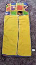 Dora the Explorer Sleeping Mat Bag Built in Pillow Roll and Carry Swipper Boots