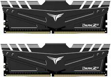 Team DARK Za 32GB (2x16GB) DDR4 3600MHz CL18 Memory RAM TDZAD432G3600HC18JDC01