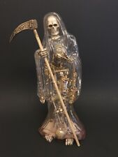 Santa Muerte Resin Statue, Transparent clear, Holy Death, Grim Reaper,religious