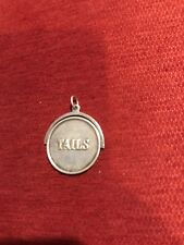 Tails Round Silver Coin Rare Quarter Tiffany & Co Silver Heads And