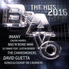 BRAVO HITS 2016 Best of The Year Pop 2-CD NEW Ellie Goulding/Rag N Bone Man/SIA