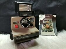 Polaroid Land Camera Pronto! S (with Nissin FSP Electronic Flash)