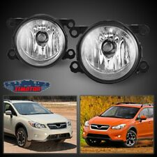 Fit Subaru XV Crosstrek 13-19 Clear Lens Pair Fog Light Lamp OE Replacement DOT