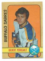 1972-73 O-Pee-Chee #136 Gilbert Perreault Buffalo Sabres