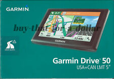 *NEW* Garmin Drive 50LMT Car Navigation GPS-Free Lifetime US Maps-Traffic-Canada