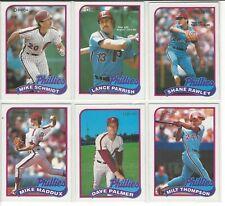 1989 O-Pee-Chee Philadelphia Phillies Team Set